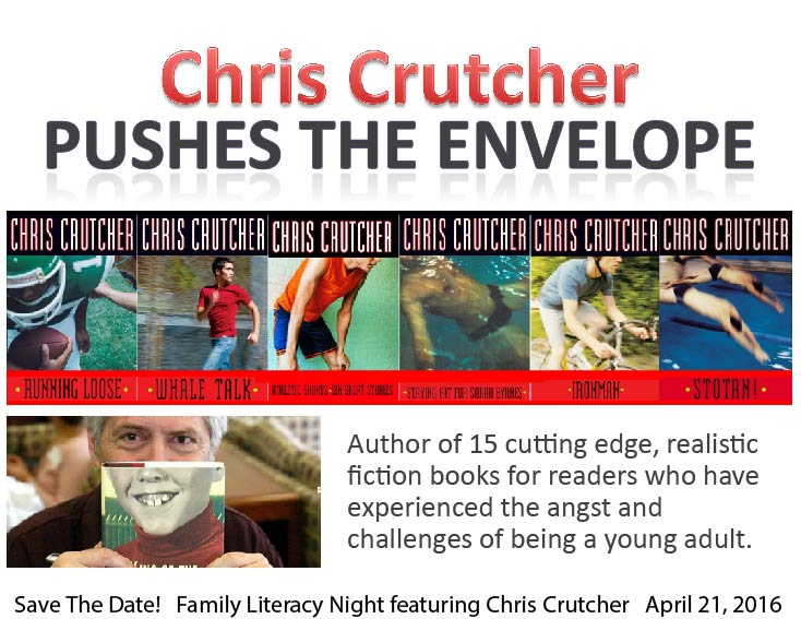 Chris Crutcher Save the Date